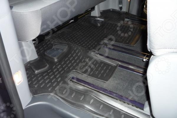 Коврик в салон автомобиля Novline-Autofamily Hyundai New H-1 2007
