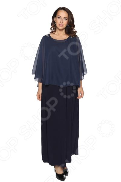 Платье Pretty Woman «Блестящий выход». Цвет: темно-синий