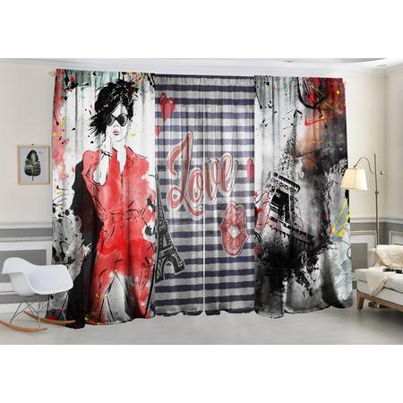 Купить Фотокомплект: тюль и шторы ТамиТекс «Дамские штучки»