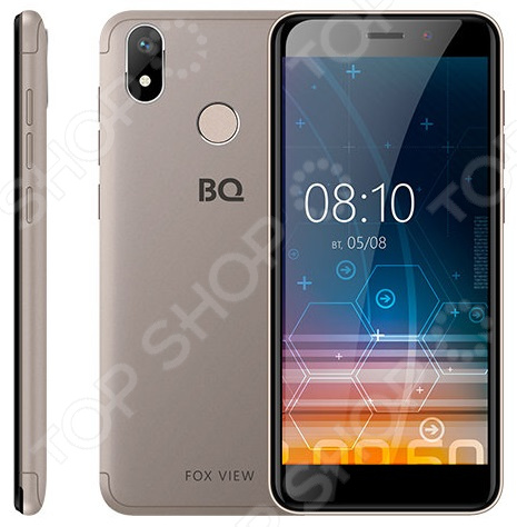 Смартфон BQ 5011G Fox View сотовый телефон bq 5011g fox view titanium grey