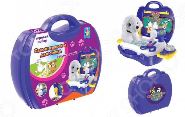 Игровой набор для ребенка 1 Toy «Салон красоты для собак» куплю салон красоты в херсоне