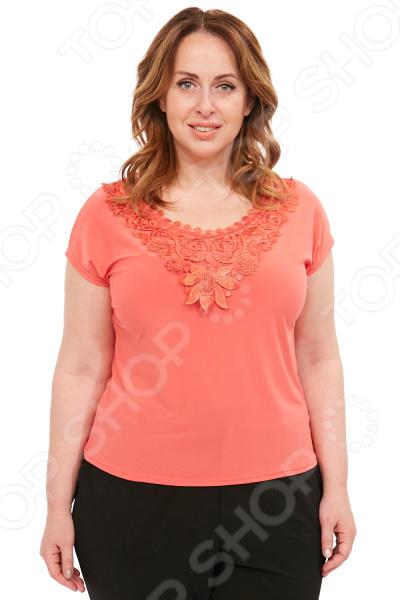 Блуза Лауме-Лайн «Солнечная радость». Цвет: коралловый