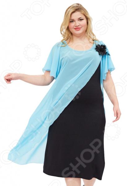 Платье Матекс «Загадочная незнакомка». Цвет: ментоловый