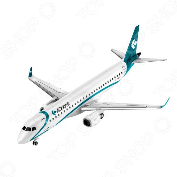 Набор сборной модели гражданского самолета Revell Embraer ERJ 195