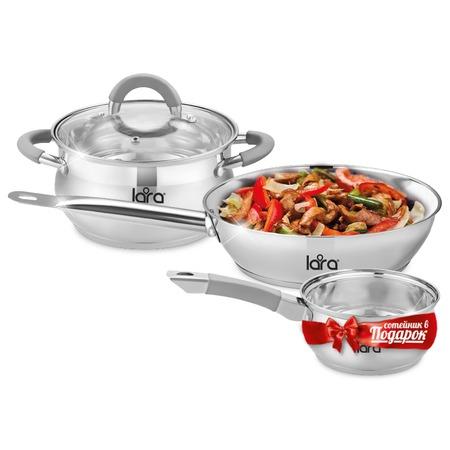 Купить Набор посуды LARA Bell Promo LR02-110