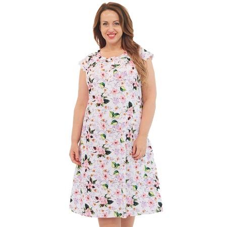 Купить Сорочка Алтекс «Цветущая яблоня». Цвет: белый