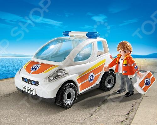 Конструктор игровой Playmobil «Береговая охрана: Машина первой помощи»