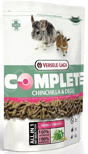 Корм для шиншилл и дегу Versele-Laga Complete Chinchilla & Degu корм versele laga nature chinchilla для шиншилл 10кг