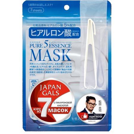 Купить Маска с гиалуроновой кислотой JAPAN GALS «Pure5 Essence»
