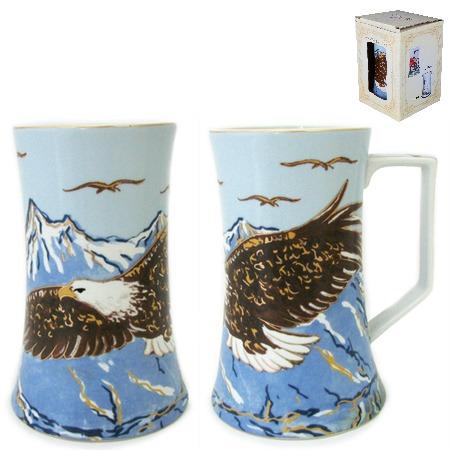 Купить Кружка пивная Elan Gallery «Орел»