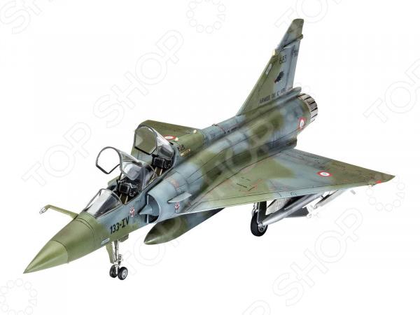 Сборная модель самолета Revell Mirage 2000D самолеты и вертолеты revell набор со сборной моделью истребитель dassault rafale m