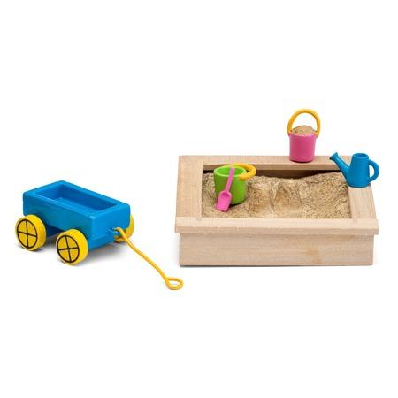 Купить Аксессуары для кукольного домика Lundby «Песочница с игрушками»