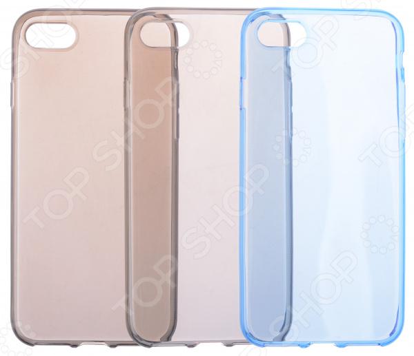 Набор накладок защитных skinBOX Apple iPhone 7 чехлы для телефонов skinbox накладка skinbox silicone carbon для apple iphone 7