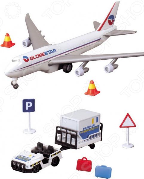 Набор игровой Dickie «Аэропорт» игровой набор dickie аэропорт 3343002