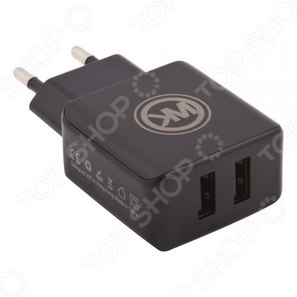 Устройство зарядное сетевое WK Blanc 2U WP-U11 Micro USB свеча q20pr u11 применяемость