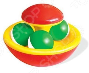 Игрушка-погремушка Стеллар «Гриб-неваляшка» развивающие игрушки red box неваляшка мишка