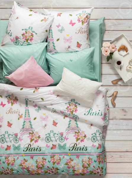 Комплект постельного белья Сова и Жаворонок «Роз де Пари». 2-спальный