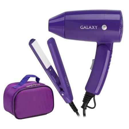 Набор: фен и выпрямитель для волос Galaxy GL4720