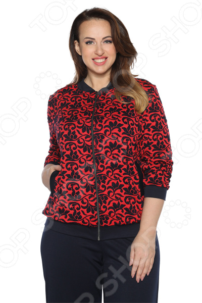 Бомбер Pretty Woman «Прекрасное настроение». Цвет: красный бомбер printio мода 2017