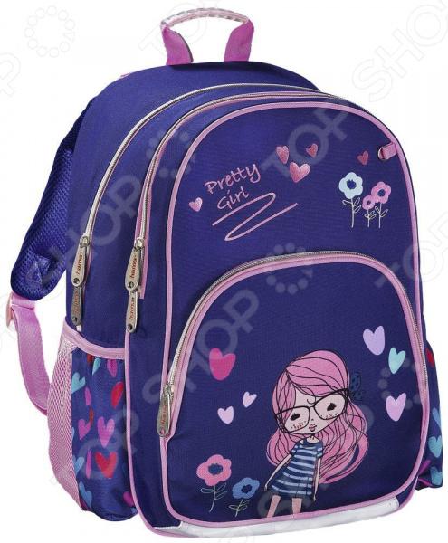 Рюкзак школьный Hama Pretty Girl рюкзак hama sweet owl pink blue