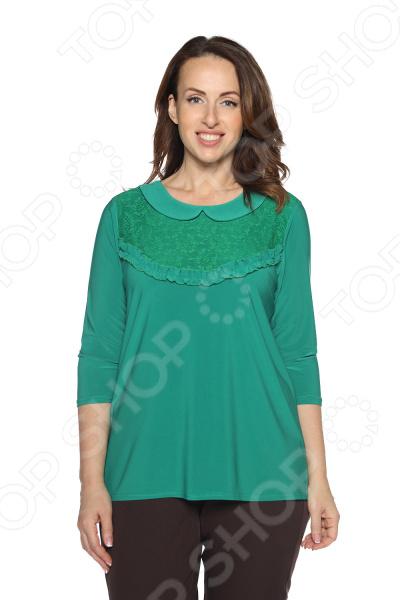 Блуза Pretty Woman «Волшебный взгляд». Цвет: зеленый блуза pretty woman волшебный взгляд цвет зеленый