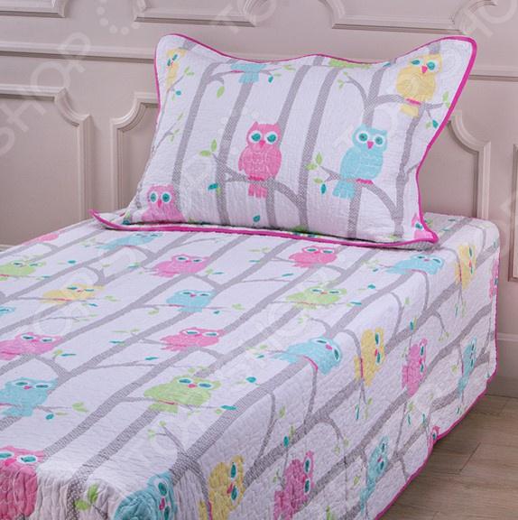 Комплект для спальни: покрывало и наволочка Santalino 806-040 для спальни