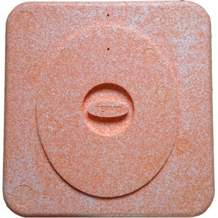 Купить Термосиденье с крышкой для дачных туалетов «Дачное тепло». Цвет в ассортименте
