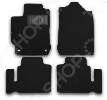 Комплект ковриков в салон автомобиля Klever Toyota Camry 2011 Premium автомобильный коврик seintex 84980 для toyota camry
