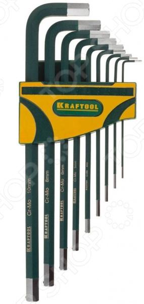 Набор ключей имбусовых Kraftool Industrie 27443-H9 набор инструментов kraftool 22011 h4