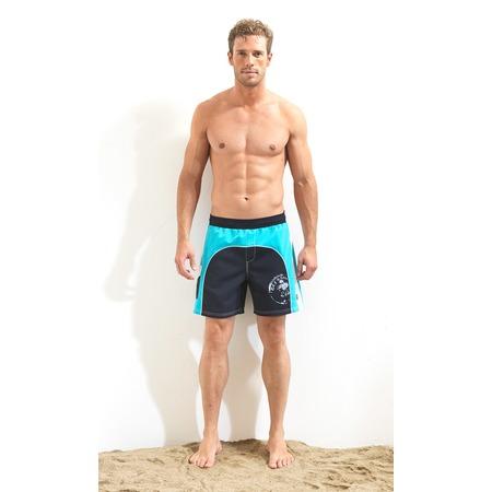 Купить Шорты мужские для плавания BlackSpade 8010. Цвет: темно-синий
