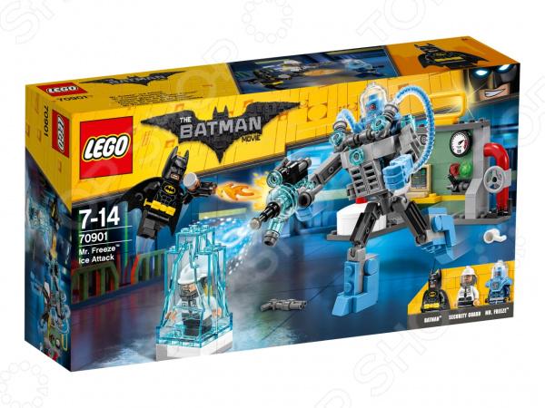 Конструктор игровой LEGO The Batman Movie «Ледяная aтака Мистера Фриза» lego batman movie ластик 3 шт 51760