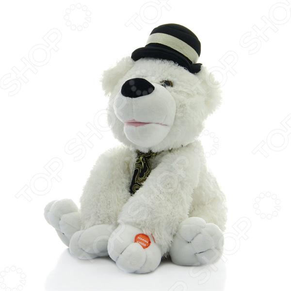 Игрушка со звуковыми эффектами Музыкальные подарки «Медвежонок Августин» музыкальная игрушка медвежонок августин