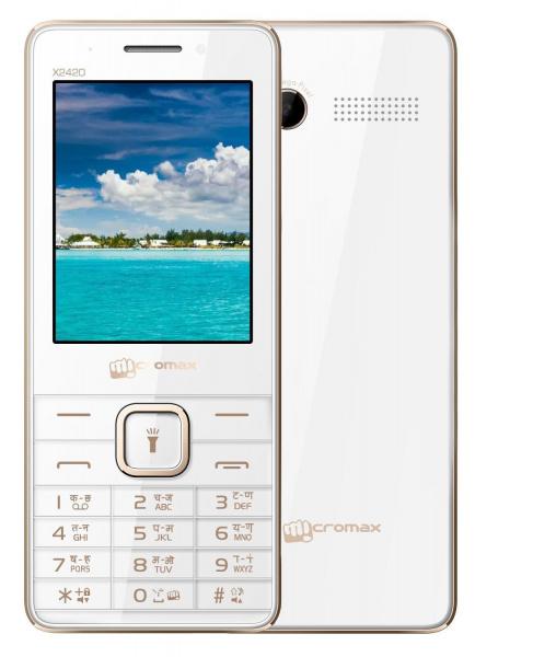Мобильный телефон Micromax X2420 телефон