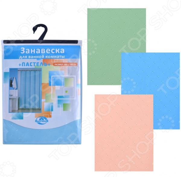Штора для ванной Мультидом «Пастель» BD34-101. В ассортименте декоративные перегородки для зонирования комнаты калуга