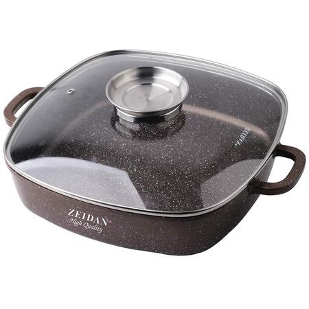 Купить Жаровня с крышкой Zeidan Granite Z50313