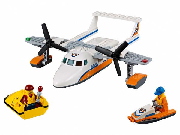 Конструктор игровой LEGO City «Спасательный самолет береговой охраны»