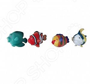 Набор игрушек-брызгалок для ванны Yako «Акварики» 1724237