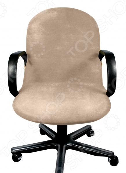 Чехол на компьютерное кресло Медежда «Бруклин» чехол на мебель медежда чехол на стул с юбкой иден коричневый