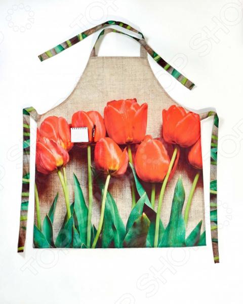 Фартук Сирень «Красный тюльпан»