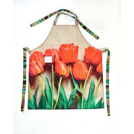 Купить Фартук Сирень «Красный тюльпан»