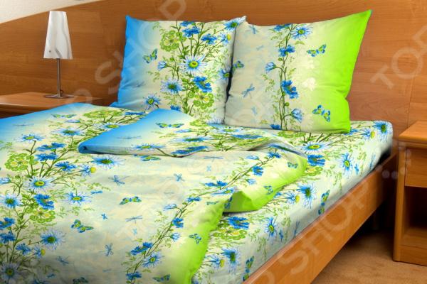 Комплект постельного белья Fiorelly «Васильки» 3808/2. 1,5-спальный