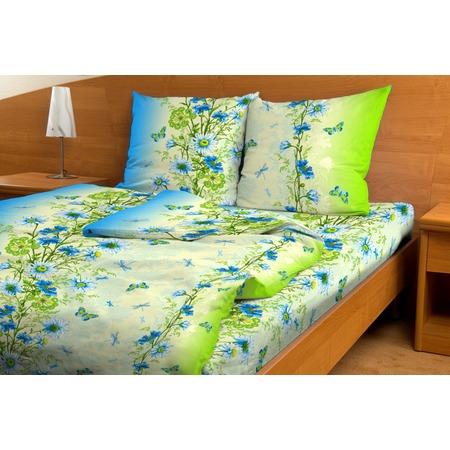 Купить Комплект постельного белья Fiorelly «Васильки» 3808/2. 1,5-спальный