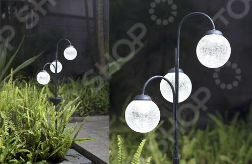 Светильник садовый «Шар» Solar Led Lamp 000290