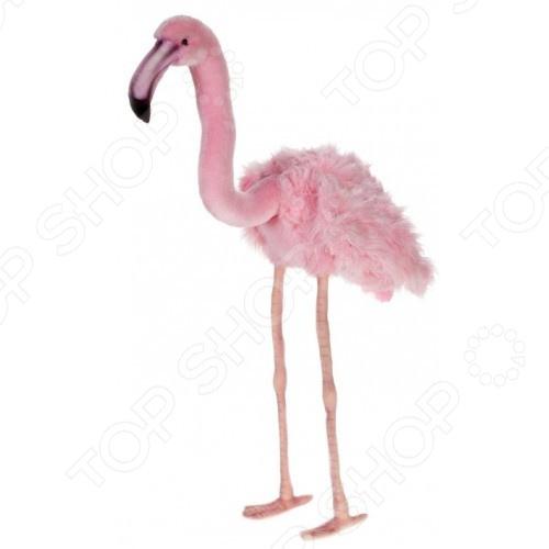 Мягкая игрушка Hansa «Розовый фламинго»