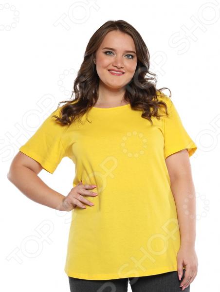 Футболка Гранд Гром «Солнышко мое». Цвет: желтый туника гранд гром ассорти идей цвет коричневый