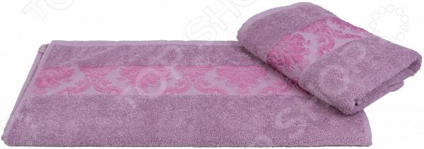 Полотенце махровое Hobby Home Collection Ruzanna. Цвет: лиловый