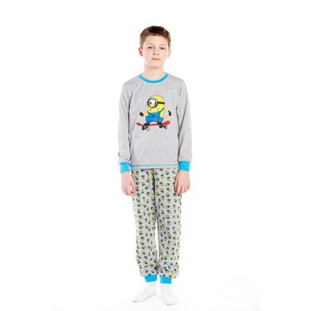 Купить Пижама для мальчика «Миньон на скейтборде»