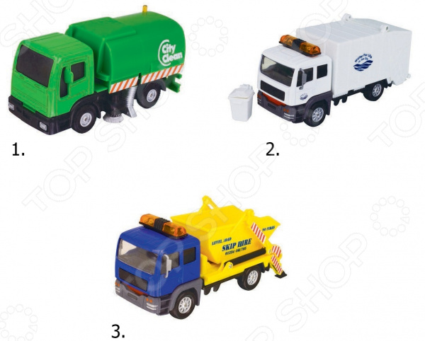 Набор машинок игрушечных HTI «Городские машины»