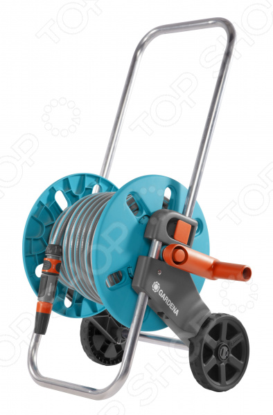Катушка для шланга на колесах Gardena AquaRoll S Classic тележка для шланга gardena aquaroll s шланг classic 20м 1 2 18502 20 000 00