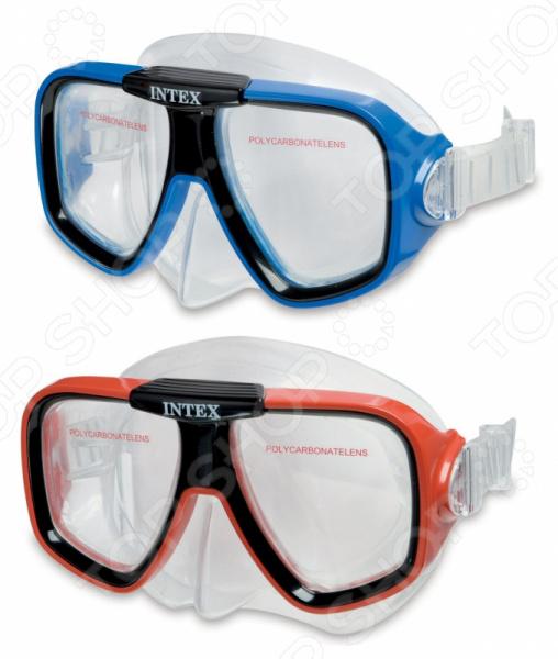Маска для плавания Intex «Пловец по подводным скалам». В ассортименте пловец